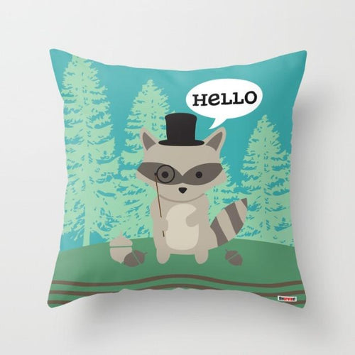 Raccoon Pillows for kids