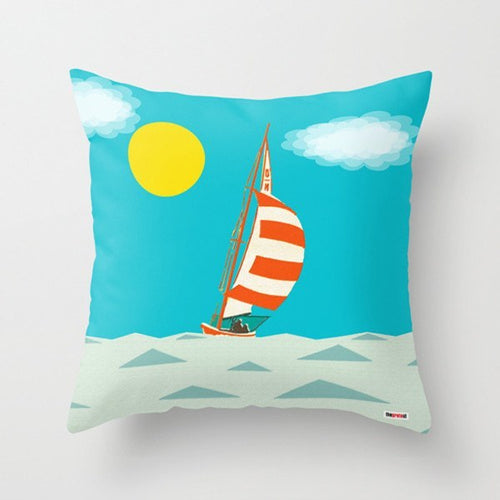 Sailing Decorative Pillow