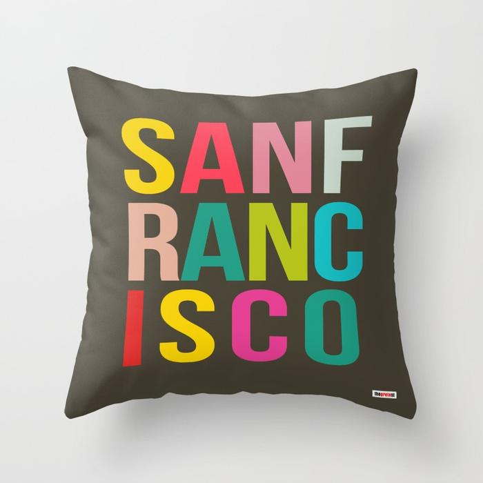 San Francisco pillow - Souvenir Pillow-TheGretest