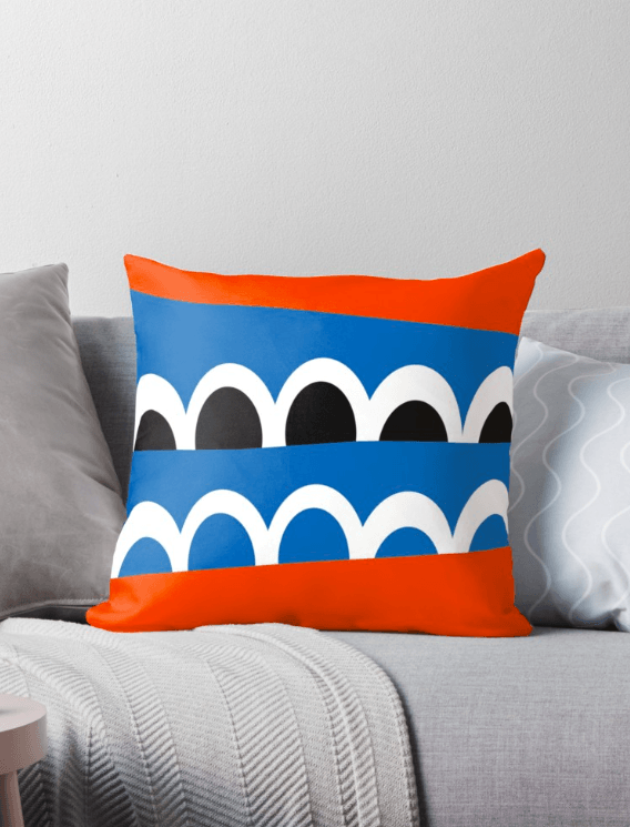 Scandinavian pillow - Colorful Pillow-TheGretest