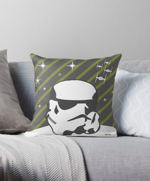 Stormtrooper pillow