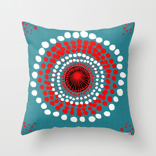 Strange flower Pillow