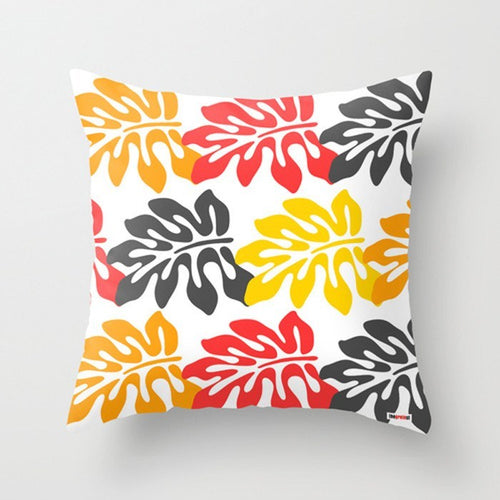 Surf Leaf Modern Pillow