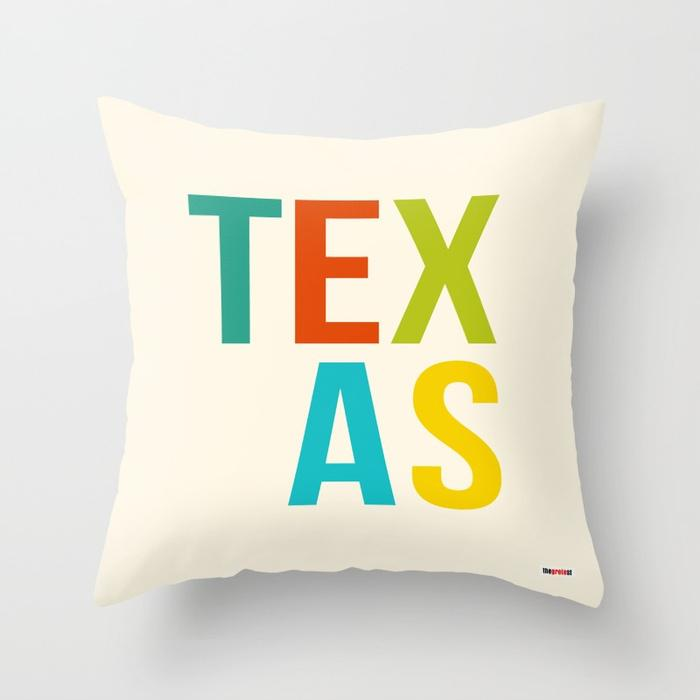 Texas pillow - Souvenir Pillow-TheGretest