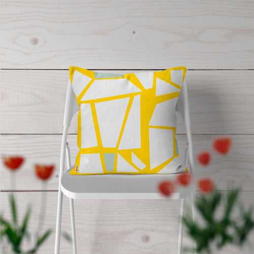 White and Yellow Pillows