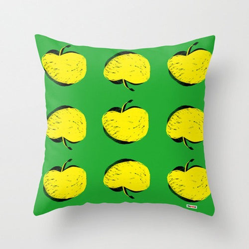 Yellow apples Decorative Pillow