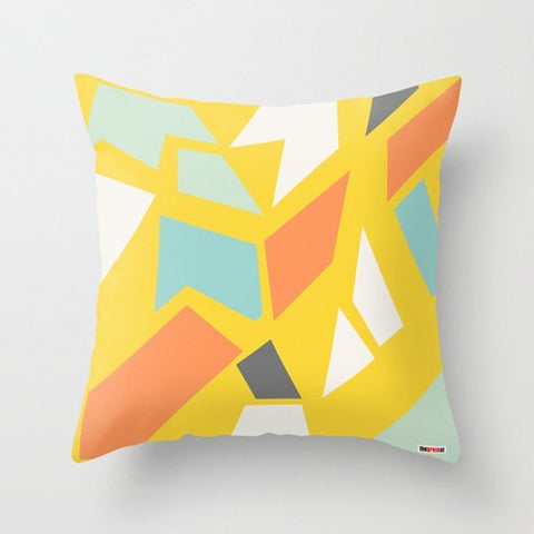 Yellows Decorative Pillow-Pillows-TheGretest