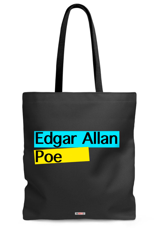 Allan Poe Tote bag - Gifts for Readers