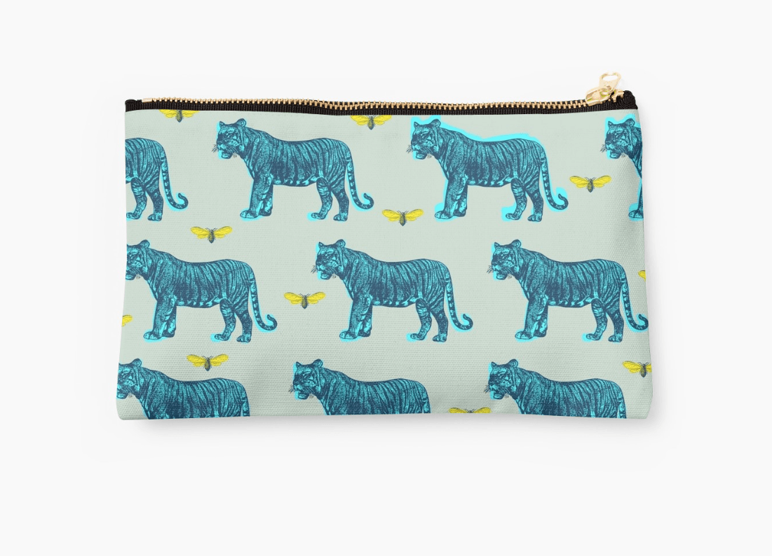 Tigers Pouch - Modern Pouches-TheGretest