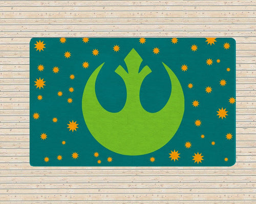 Alliance Starboard Rug - Star wars Rug
