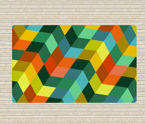 Geometric rug - Modern rugs - Colorful rugs- Affordable rugs - TheGretest - 1