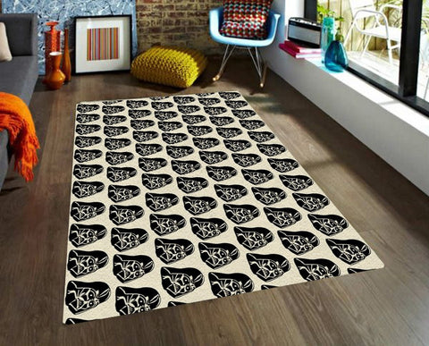Darth Vader Rug - Star wars Rugs - Nursery Area Rugs - Rugs for Kids-Rugs-TheGretest