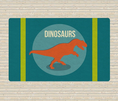 Dinosaur Rug - Decorative Rugs - Nursery Area Rugs - Kids rugs-Rugs-TheGretest
