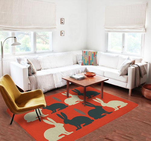 Rabbits Rugs