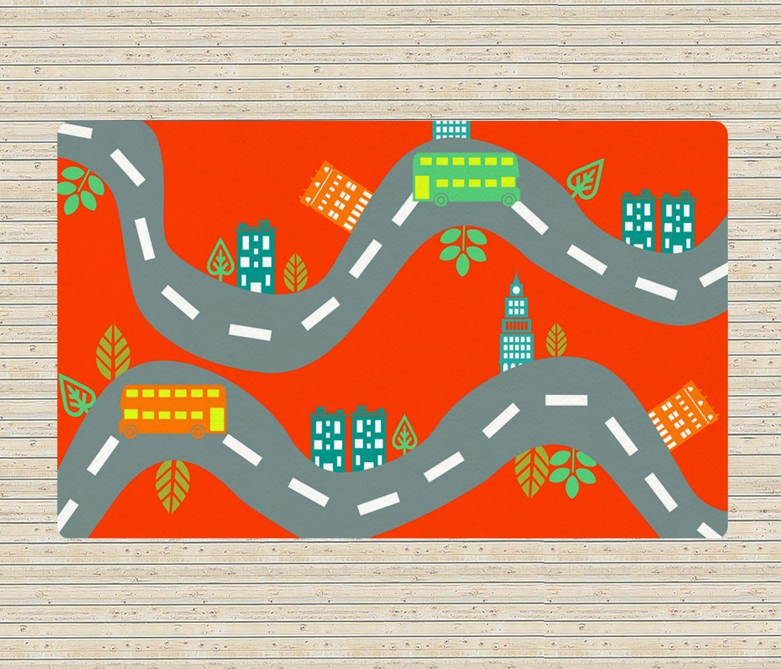 Kids Rug - Street Rug - Nursery Decor-TheGretest