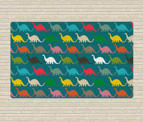 Kids rugs - Dinosaurs Rug - Nursery Area Rugs - Contemporary Rugs for kids - TheGretest - 1