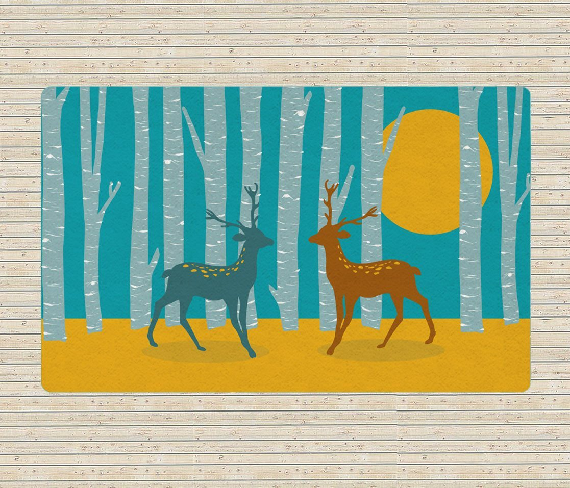 The Forest area rug - Kids Rugs - Nursery Area Rugs - 5x8 rugs-TheGretest
