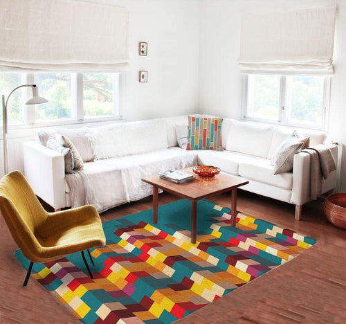 Geometric Decorative Rug