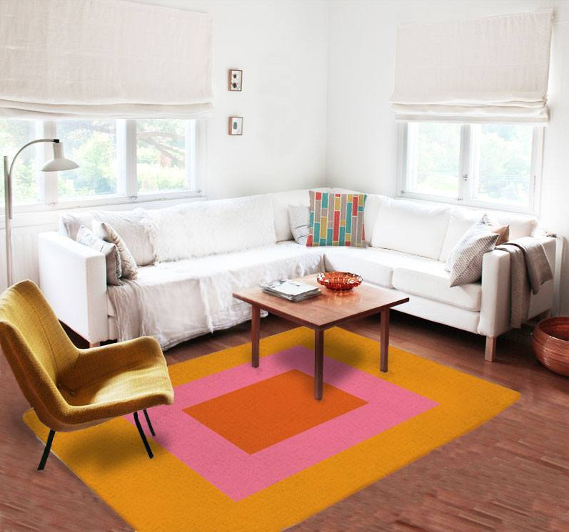 Geometric Rug - Modern Rugs - Affordable rugs - Dorm rugs - 5x8 rug-TheGretest
