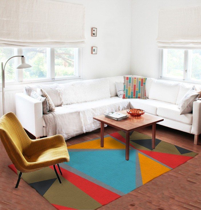 Modern Geometric Rugs - Accent Rugs - Affordable area rugs - Dorm rugs-TheGretest