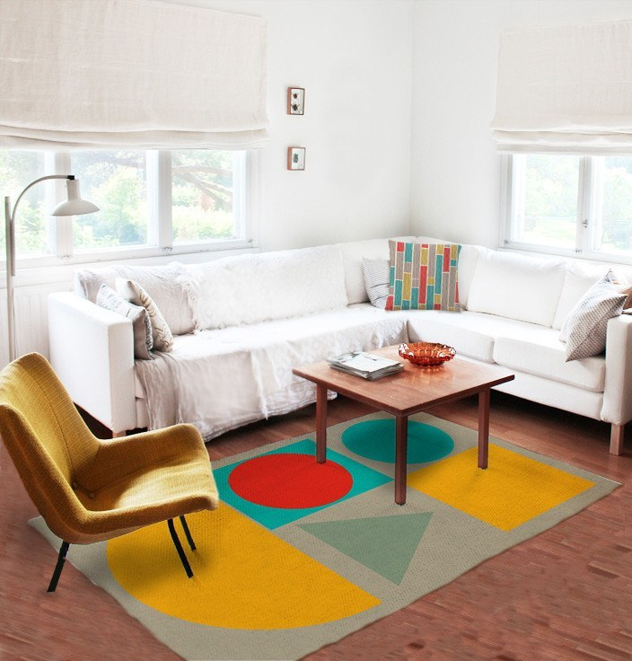 Geometric Rug - Modern Area Rug - Affordable area rugs-TheGretest