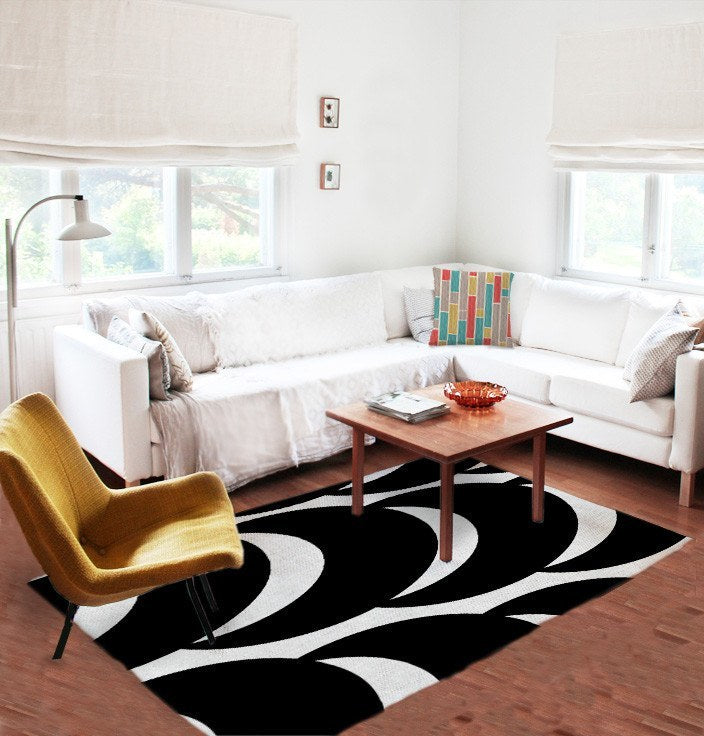 Black and white Rugs-TheGretest