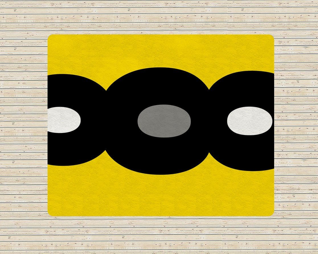 Yellow and Black Rug - Modern Area Rug - Affordable area rugs - Designer Rug-TheGretest