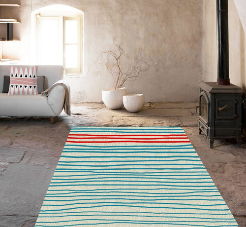 Blue Lines Rugs
