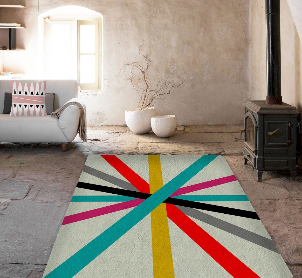 Cool Lines Rug-TheGretest