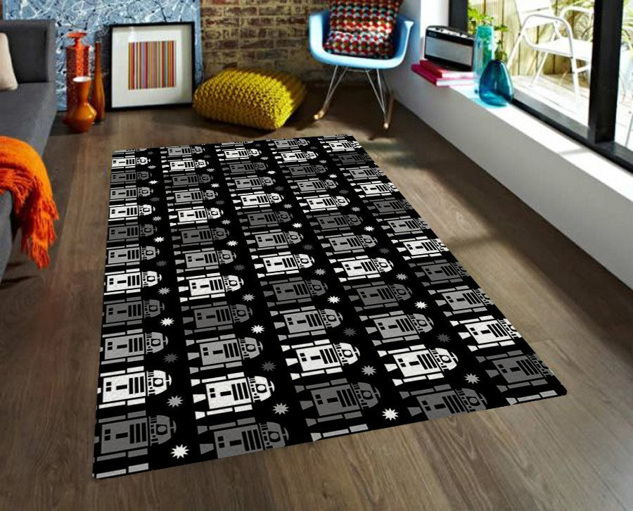 R2D2 Rug - Star Wars nursery rug - Rugs for Kids - Star wars Rugs - TheGretest - 1