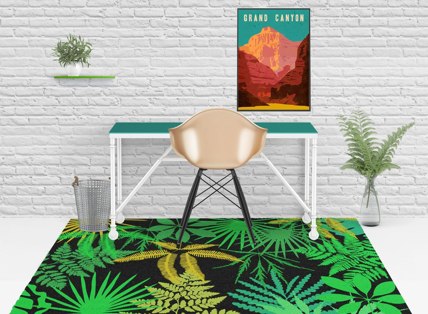 Palm Tree Rug - TheGretest