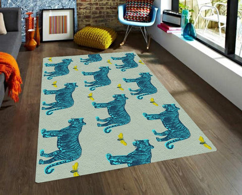 Vintage Tigers Rug - Area Rugs - Affordable rugs - Modern Rug -Decorative Rugs - TheGretest - 1