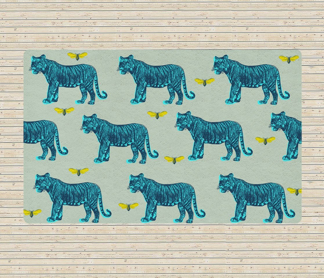 Vintage Tigers Rug - Area Rugs - Affordable rugs - Modern Rug -Decorative Rugs-Rugs-TheGretest
