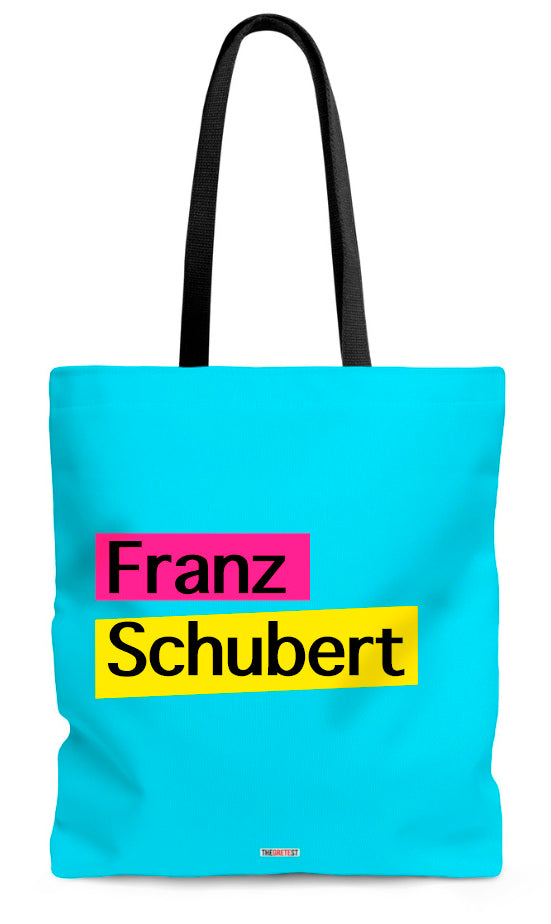 Schubert Tote bag - Gifts for classical musicians