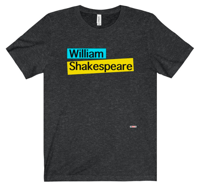 Shakespeare t-shirt. Literary t-shirt