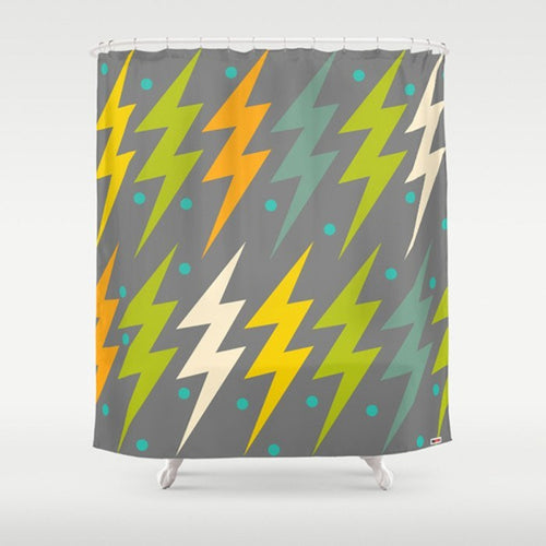 Modern Shower Curtain - grey