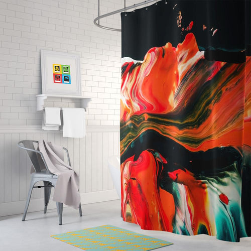 Painting Shower Curtain