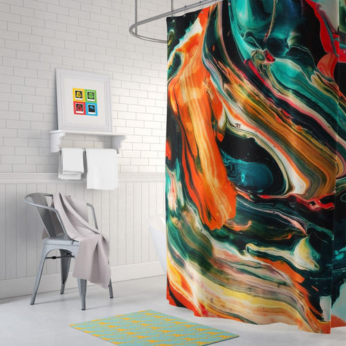 Painting Shower Curtain I