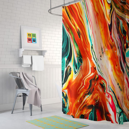 Painting Shower Curtain II