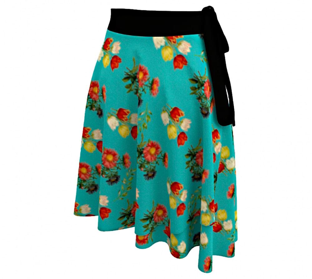 Wrap Skirt - Wrap around skirt