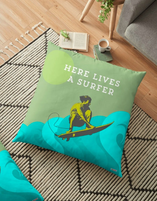 Surf Floor pillow