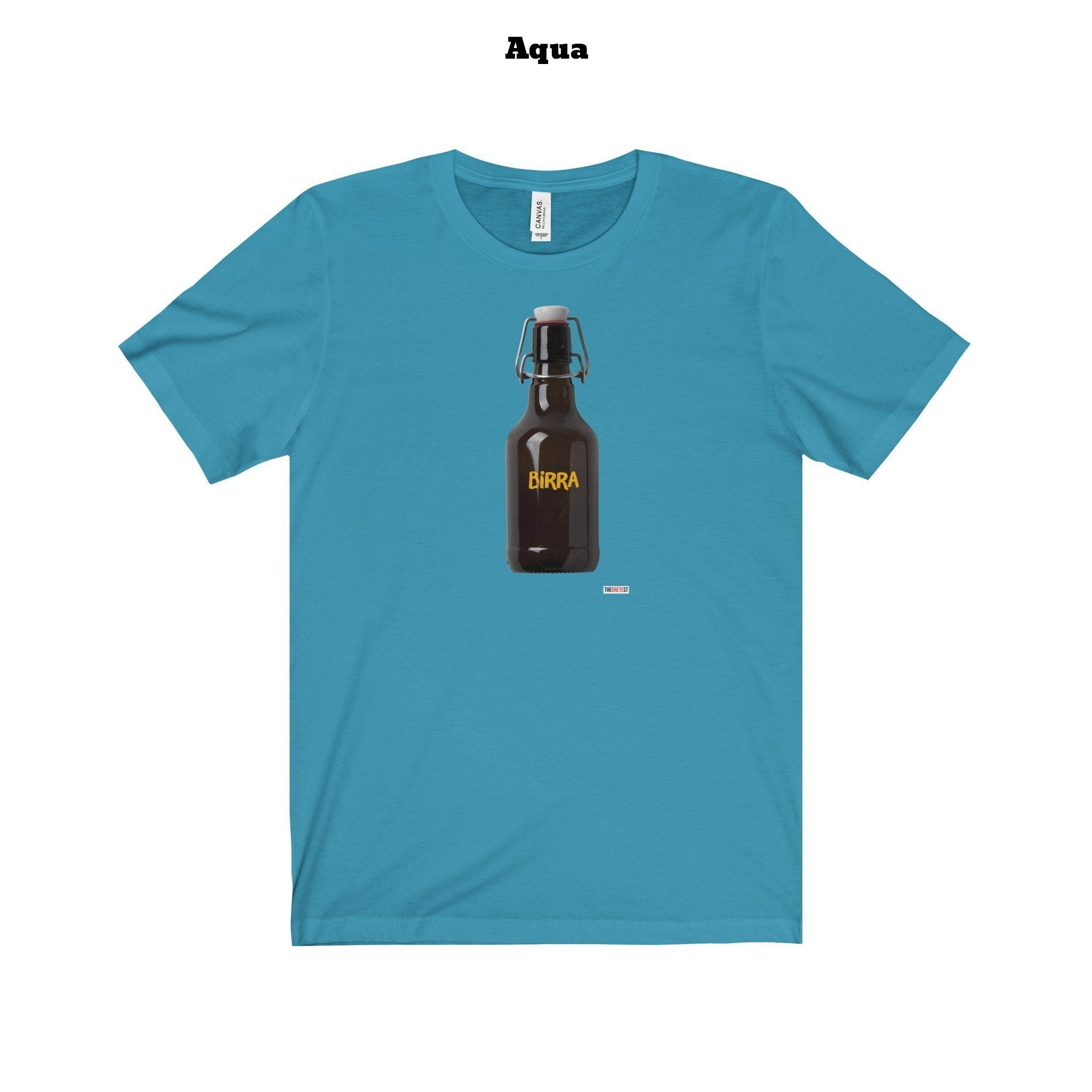 Beer Bottle T-shirt - Birra T-shirt (+15 colors)-TheGretest