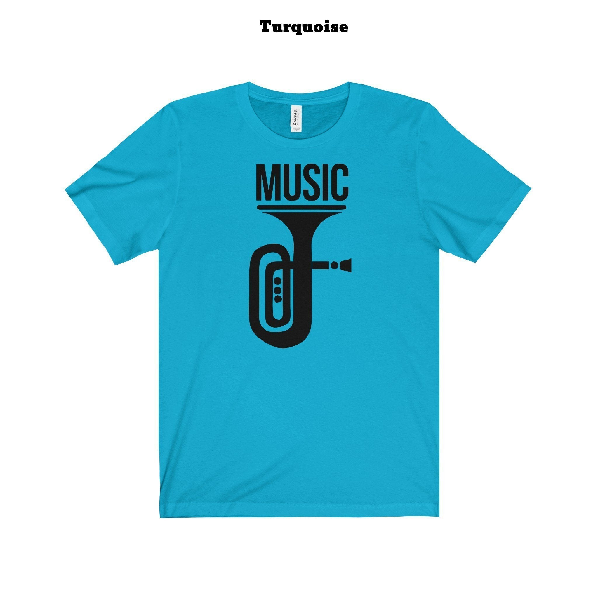 Music t-shirt (+14 colors)-TheGretest