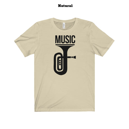 Music t-shirt (+14 colors)