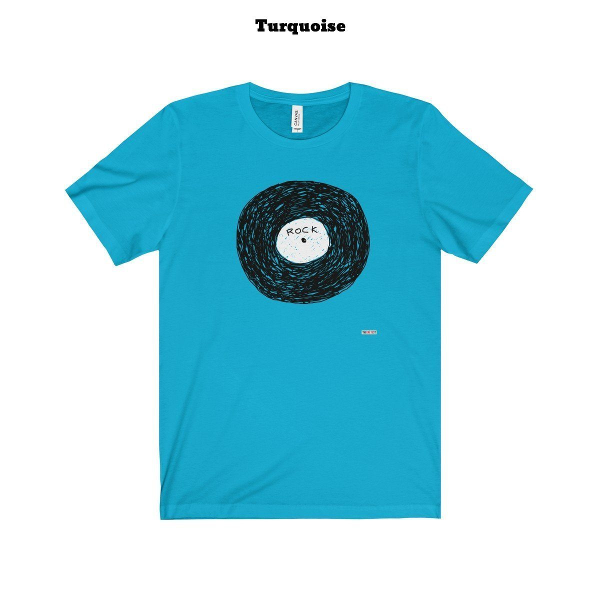Rock Vinyl T-shirt (+9 Colors)