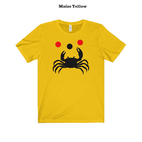 The Playful Crab T-shirt (+14 Colors)