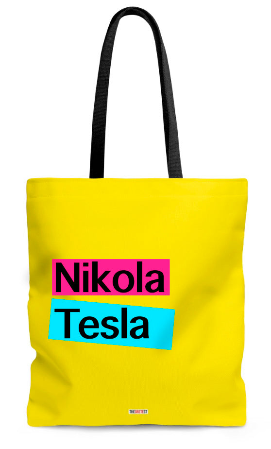 Nikola Tesla Tote bag - Gifts for physicists