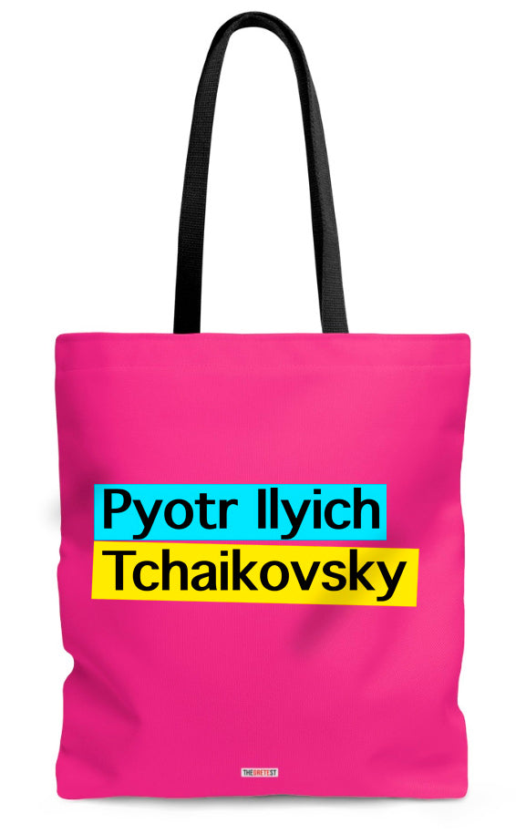 Tchaikovsky Tote bag - Gifts for classical musicians