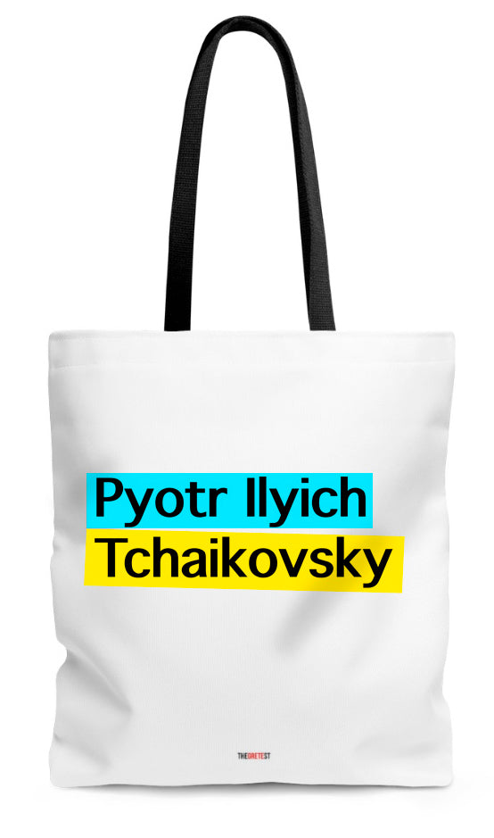 Tchaikovsky Tote bag - Gifts for musicians
