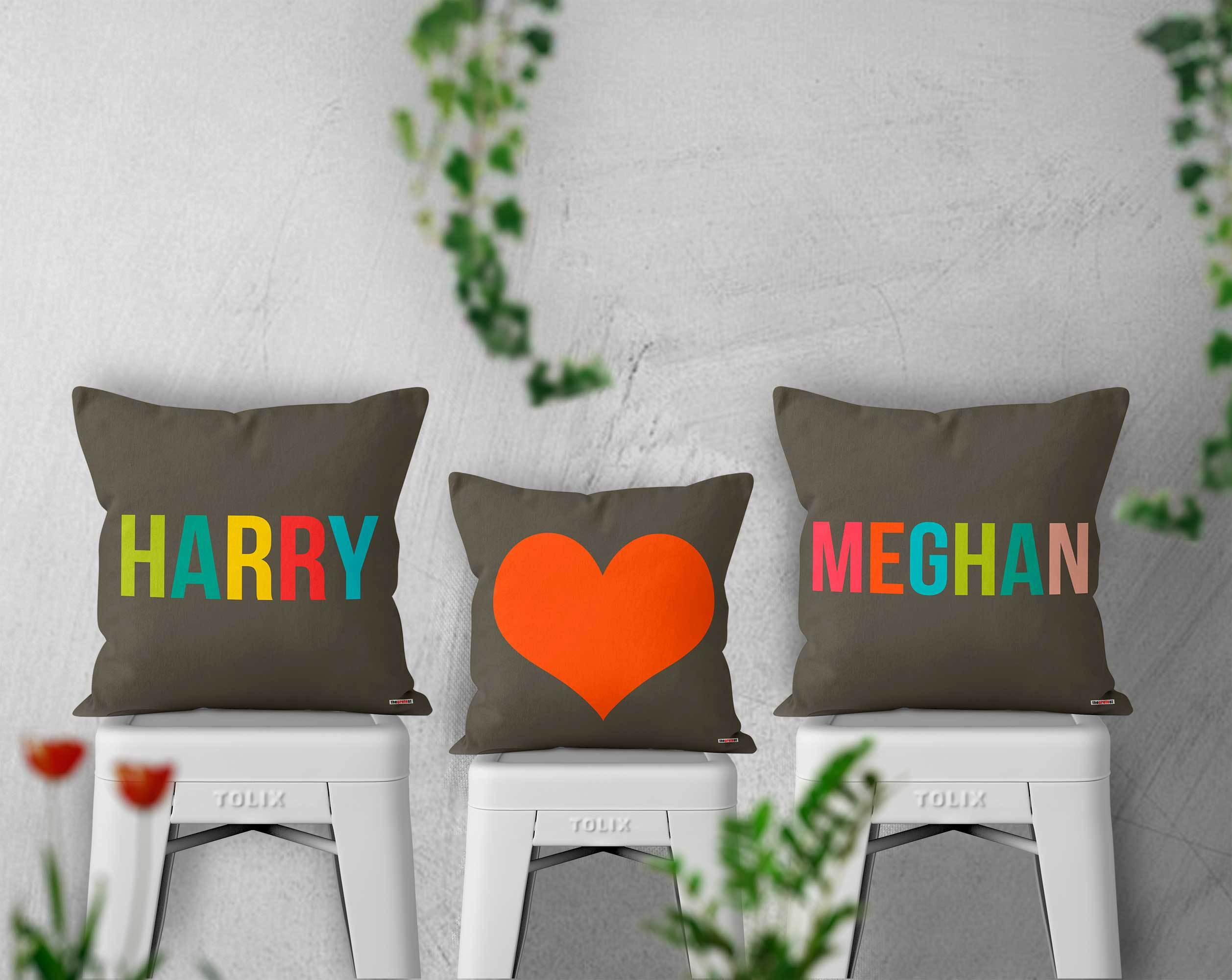 personalized pillows - romantic pillows by The Gretest